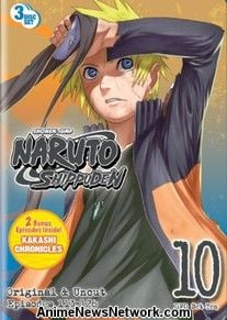 Naruto Shippuden DVD Box Set 10